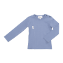 Gugguu: Tricot Shirt, Smokey Blue