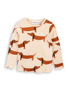 Mini Rodini: Dog Shirt, Beige