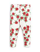 Mini Rodini: Rose Leggings, offwhite