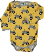 Småfolk: Body with Tractor, yellow