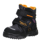 Superfit: Goretex-talvikengät, Husky1, Black/Orange