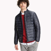 Tommy Hilfiger: Heather Down Bomber jacket, blue