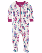 Hatley: Happy Owls Footed Coverall