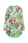 Desigual: PSYCH -Beach Dress, Turquesa