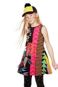 Desigual: WINDHOEK -Dress, Negro
