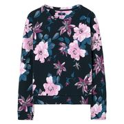 Gant: Flower printed c-neck sweat