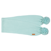 Gugguu: Scarf With Tufts, Light Mint