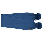 Gugguu: Scarf With Tufts, Deep Blue