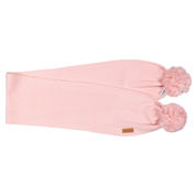 Gugguu:  Scarf With Tufts, Soft Rose