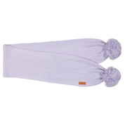 Gugguu: Scarf With Tufts, Light Lilac