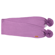 Gugguu:  Scarf With Tufts, Violet