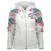 Superdry: Tropical Floral Entry Ziphoodie