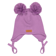 Gugguu: Double Tuft Baby Beanie, Violet
