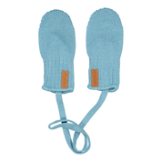 Gugguu: Knitted Baby Mittens, Sea Blue