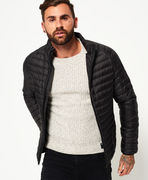 Superdry: Core Down Jacket, black
