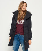 Superdry: Cocoon Parka Jacket, graphite