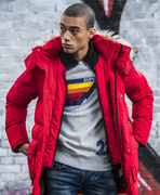 Superdry: SD Expedition Parka Jacket, red