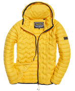 Superdry: Down radar mix quilt jacket