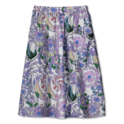 Vimma: Women's Skirt, White-Purple