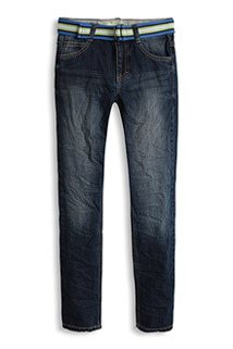 Esprit: Boy's Stonewashed Jeans with Belt