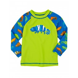 Hatley: Crazy Chameleons Rash Guard