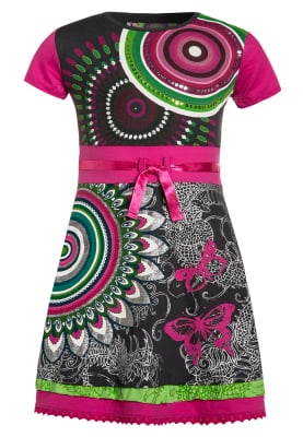 Desigual: ALBANY -dress, Black and White