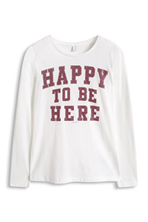 Esprit: Happy to be here- Shirt