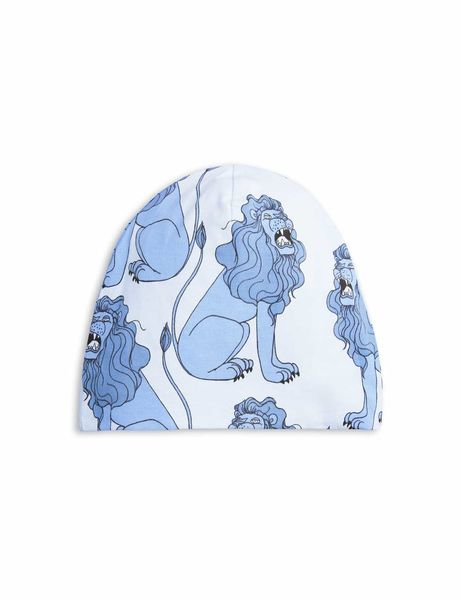 Mini Rodini: Lion Beanie, light blue