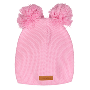 Gugguu: Double Tuft Beanie, Pink Cloud