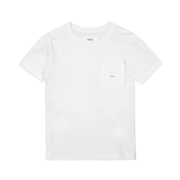 Makia kids Pocket T-Shirt, white