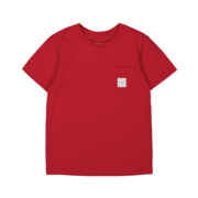 Makia kids Pocket T-Shirt, red