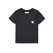 Makia kids Pocket T-Shirt, black