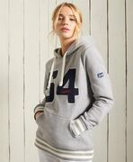 Superdry Collegiate Athletic Union Hoodie, grey marl.
