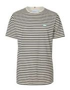 LES DEUX sailor stripe patch t-shirt