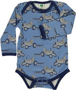Småfolk: Body with Tractor, Multi Blue