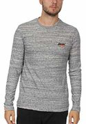 Superdry: Orange label vintage emb tee, Grey