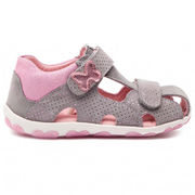 Superfit: Kids sandals, Light Grey/Pink
