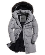 Superdry: Cocoon parka jacket, grey