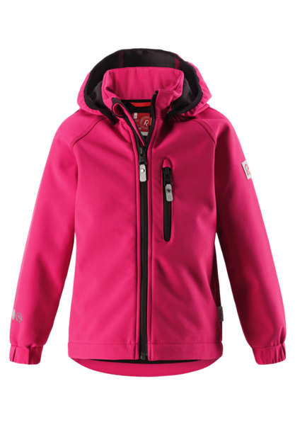 Reima: softshell Jacket Vantti, Berry