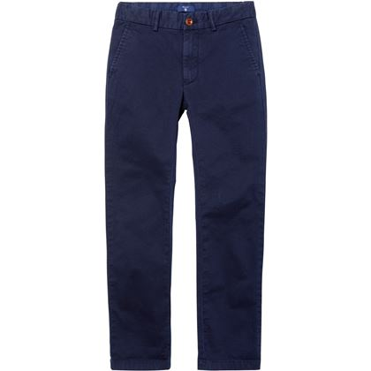 Gant: Boy's Chino Trousers, evening blue