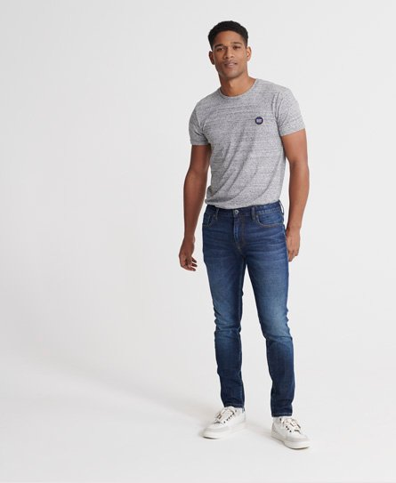 Superdry 02 Travis skinny jeans, Carlton dark blue