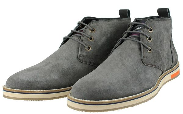 Superdry: Chester chukka boot, Dark Charcoal