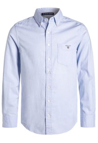 Gant: TU. archive oxford B.D shirt, capri blue