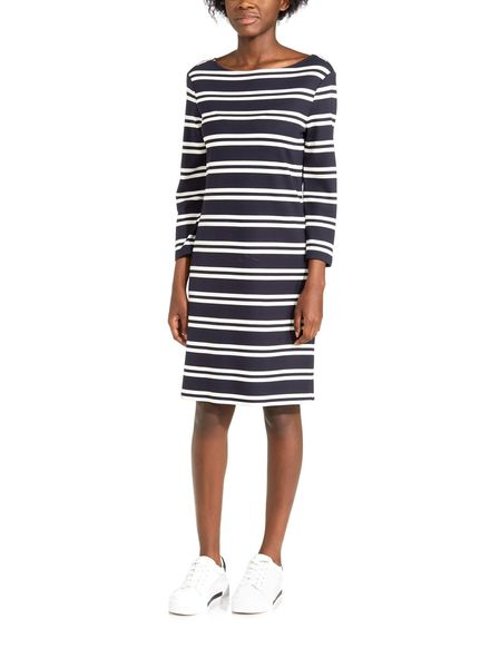 Gant: D1 Striped dress, evening blue