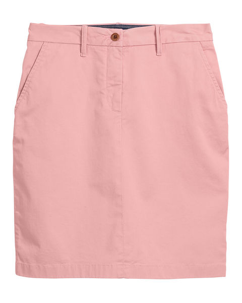 Gant: Classic chino skirt, Summer Rose