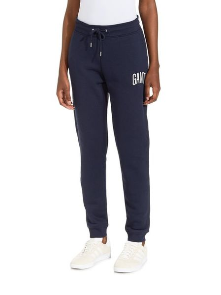 Gant: Logo pants, evening blue