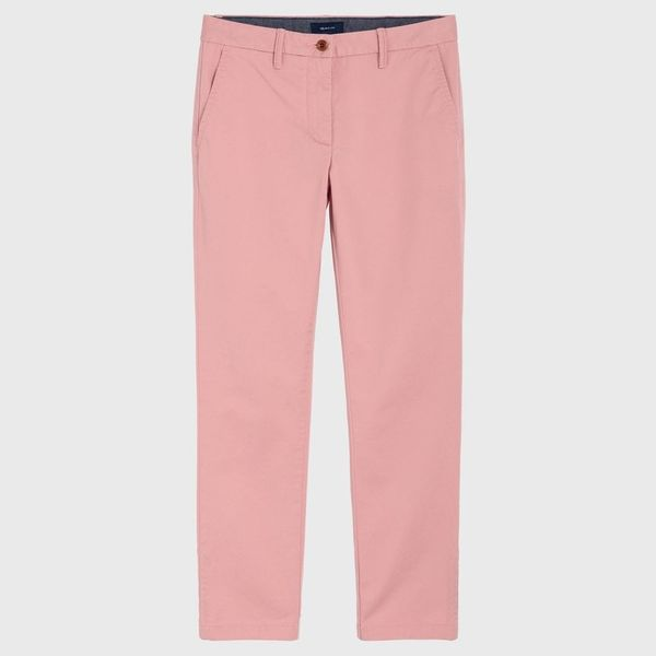 Gant: Classic Cropped Chinos, Summer Rose