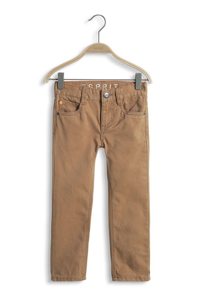 Esprit: Cotton Trousers, Brown