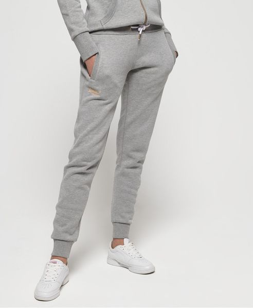 Superdry: Orange label elite jogger, elite grey marl