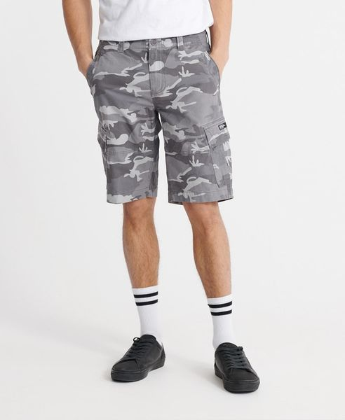 Superdry Core cargo shorts, Ice camo